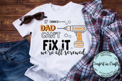 Tool Dad Can Fix It SVG Product Image 1