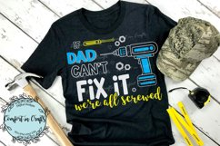 Tool Dad Can Fix It SVG Product Image 3