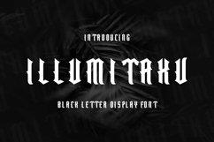 Web Font Illumitaxv Font Product Image 1