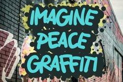 Imagine Peace Graffiti Product Image 2