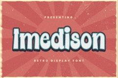 Web Font Imedison - Display Font Product Image 1