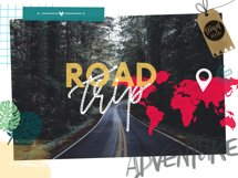 Road Trip Stamp Pack / Procreate Product Image 6
