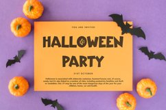 Infected - Halloween Display Font Product Image 3