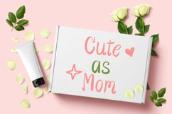 Cute Girls - Child font with doodle glyphs Product Image 5