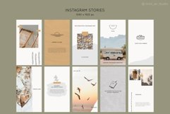 Instagram Post & Story Templates. Summer Product Image 6