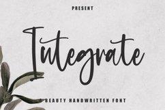 Web Font Integrate - Beauty Handwritten Font Product Image 1