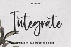 Integrate - Beauty Handwritten Font Product Image 1