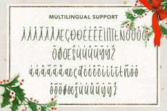 Web Font Interested December - Christmas Handwritten Font Product Image 4