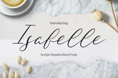 Web Font Isabelle Product Image 1