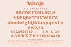 Ishqia - Chubby Serif Font Product Image 4