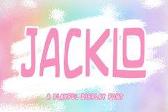 JACKLO - Playful Font Product Image 1