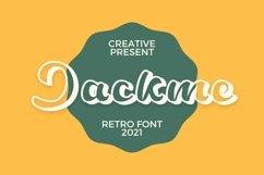 Web Font Jackme Font Product Image 1