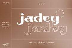 Jadey - The Classical Serif Font Product Image 1