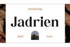 Web Font Jadrien Product Image 1
