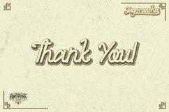 Jagoransha - Monoline Font GT Product Image 3