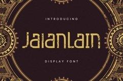 Web Font Jalanlain Product Image 1