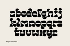 Janger - Display font Product Image 4