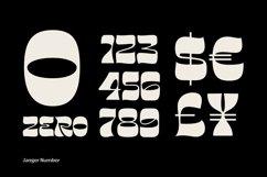 Janger - Display font Product Image 5