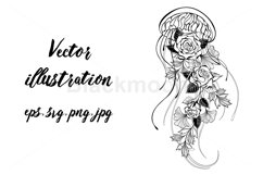 Jellyfish with Roses Product Image 1