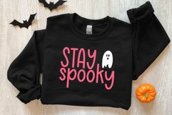 Haunted Pumpkin - A Fun Handwritten Font with Ghost Doodles Product Image 2