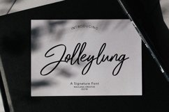 Jolleylung Signature Font Product Image 1