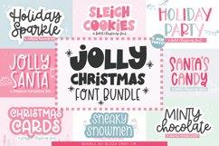 JOLLY CHRISTMAS FONT BUNDLE - Blush Font Co. Product Image 1