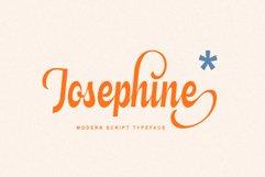 Josephine - Modern Script Typeface Product Image 1