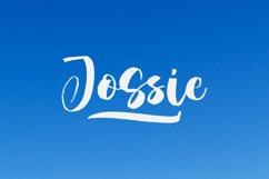 Jossie - A Handwritten Script Font Product Image 1