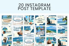 Journey Instagram Travel Template Product Image 3