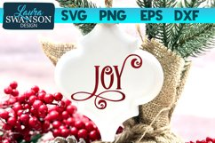Joy SVG Cut File | Christmas SVG Cut File Product Image 1