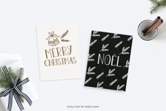 Joyeux Christmas font & Dingbat clipart illustrations Product Image 2