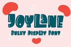 Joylane - Bulky Display Font Product Image 1