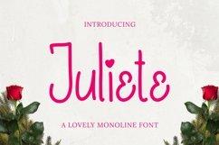 Web Font Juliete Font Product Image 1