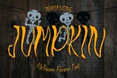 JUMPKIN - Halloween Horror Font Product Image 1