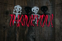 JUMPKIN - Halloween Horror Font Product Image 5