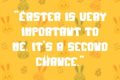 Jumpy Bunny - Funny Fancy Font Product Image 2
