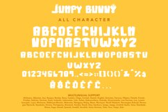 Jumpy Bunny - Funny Fancy Font Product Image 6