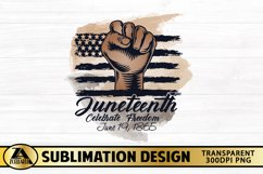 SUBLIMATION PNG JUNETEENTH PNG Afro Woman Black Lives Matter Product Image 3