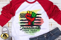 JUNETEENTH SUBLIMATION PNG Black Lives Matter PNG Watercolor Product Image 3