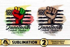 JUNETEENTH SUBLIMATION PNG Black Lives Matter PNG Watercolor Product Image 1