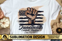 SUBLIMATION PNG JUNETEENTH PNG Afro Woman Black Lives Matter Product Image 1