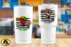 JUNETEENTH SUBLIMATION PNG Black Lives Matter PNG Watercolor Product Image 4