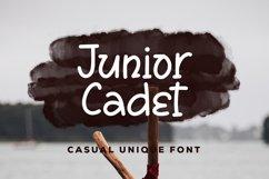 Junior Cadet - Casual Unique Font Product Image 1