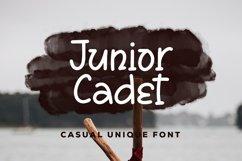 Web Font Junior Cadet - Casual Unique Font Product Image 1
