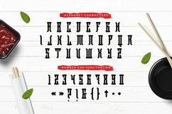 Web Font JUSTME Product Image 4