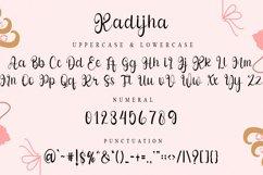 Kadijha - Handwritten Font Product Image 4