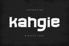 Web Font Kahgie - Display Font Product Image 1