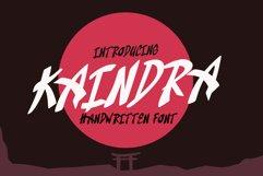 Kaindra Japan Style Font Product Image 1