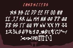 Kaindra Japan Style Font Product Image 6