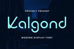 Kalgond Font Product Image 2